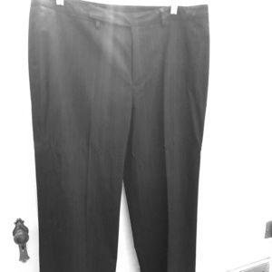 Nine West black pinstripe trouser pants